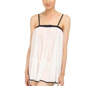 NWOT Kate Spade Womens Babydoll & Panty Set size L